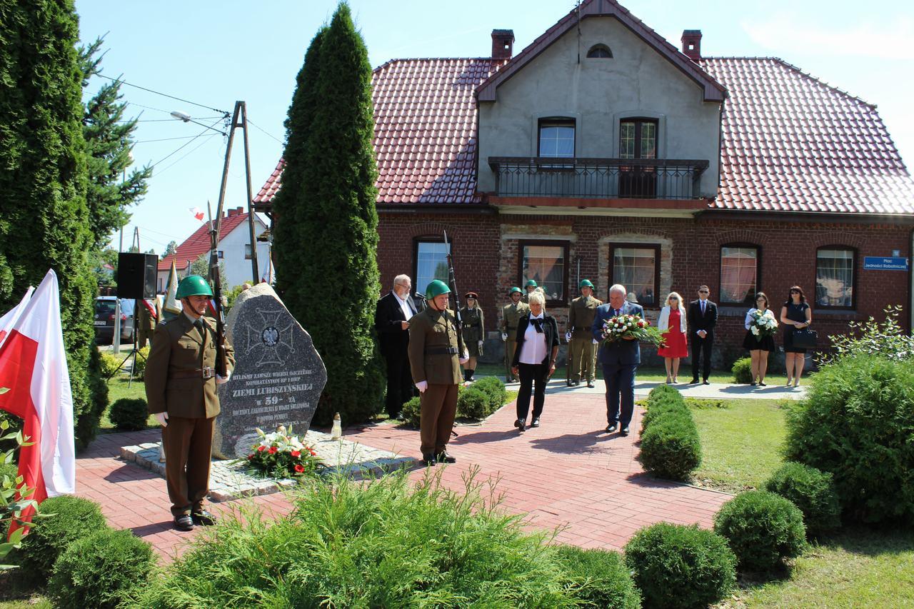 Gminne obchody Święta Wojska Polskiego