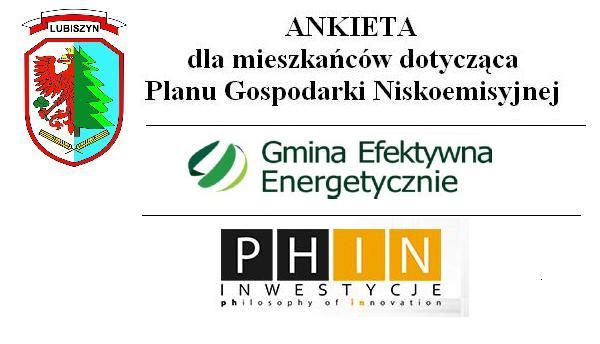 Plan Gospodarki Niskoemisyjnej dla Gminy Lubiszyn