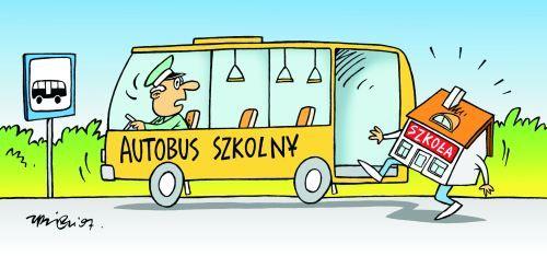 Zmiana rozkładu jazdy autobusu szkolnego- LINIA KOMUNIKACYJNA NR 1 (Smoliny, Kozin, Podlesie, Staw, Ściechów, Lubiszyn)